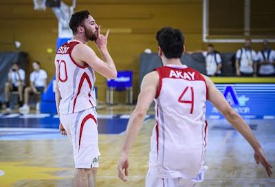 FIBA U20 Europe Türkiye - Italya Onuralp Bitim