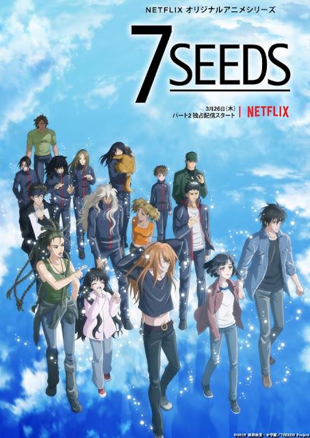La segunda temporada de 7SEEDS se estrenará el 26 de marzo en Japón.