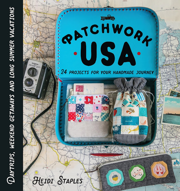 Patchwork USA by Heidi Staples of Fabric Mutt available through Lucky Spool