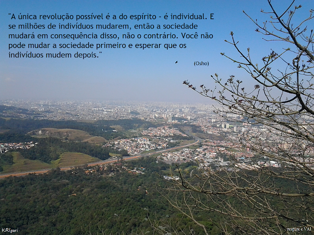 Foto particular - KRI: foto tirada no Pico do Jaraguá