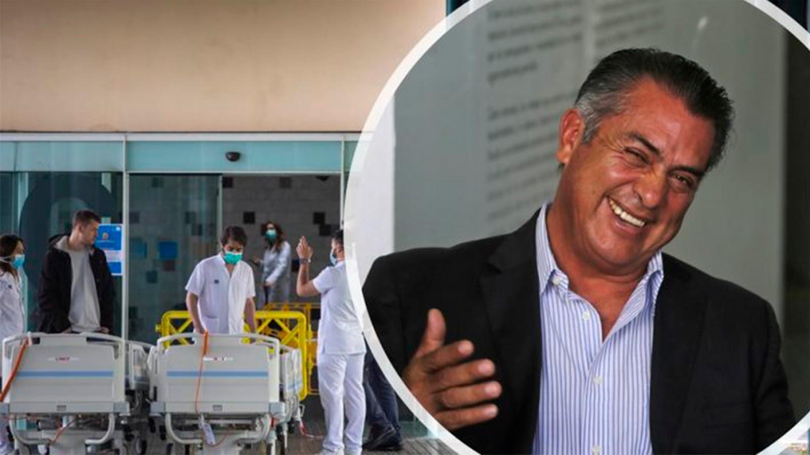 Bronco ordenó apertura comercial desde mayo; saturó hospitales y cansó al personal médico