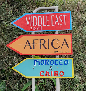 Serunya keliling dunia dalam satu hari di Great Asia Africa Lembang