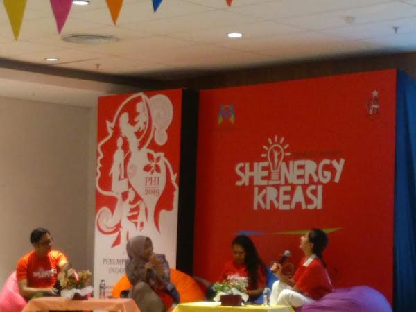 SHEnergy Kreasi, Jadikan Perempuan Lebih Berdaya
