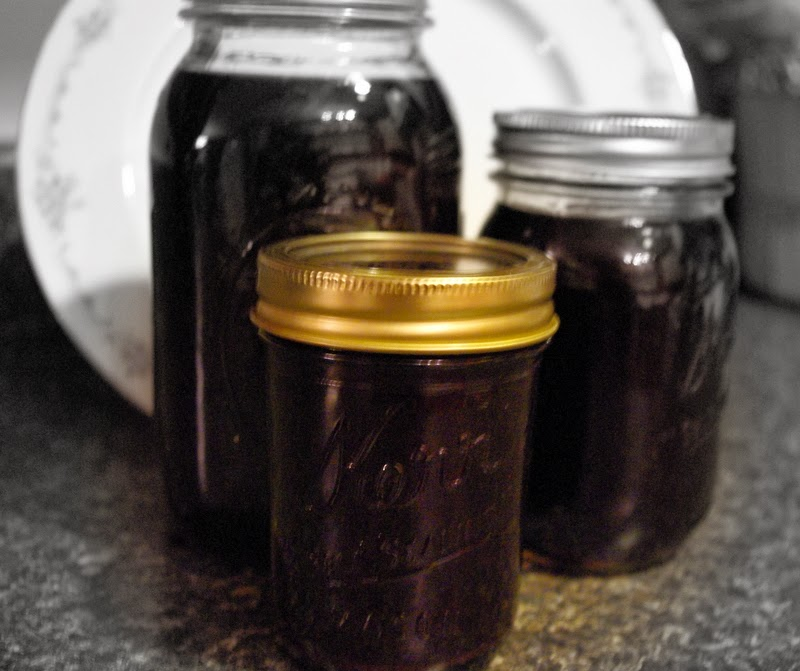 ~Homemade Elderberry Syrup~