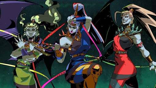 Hades game characters