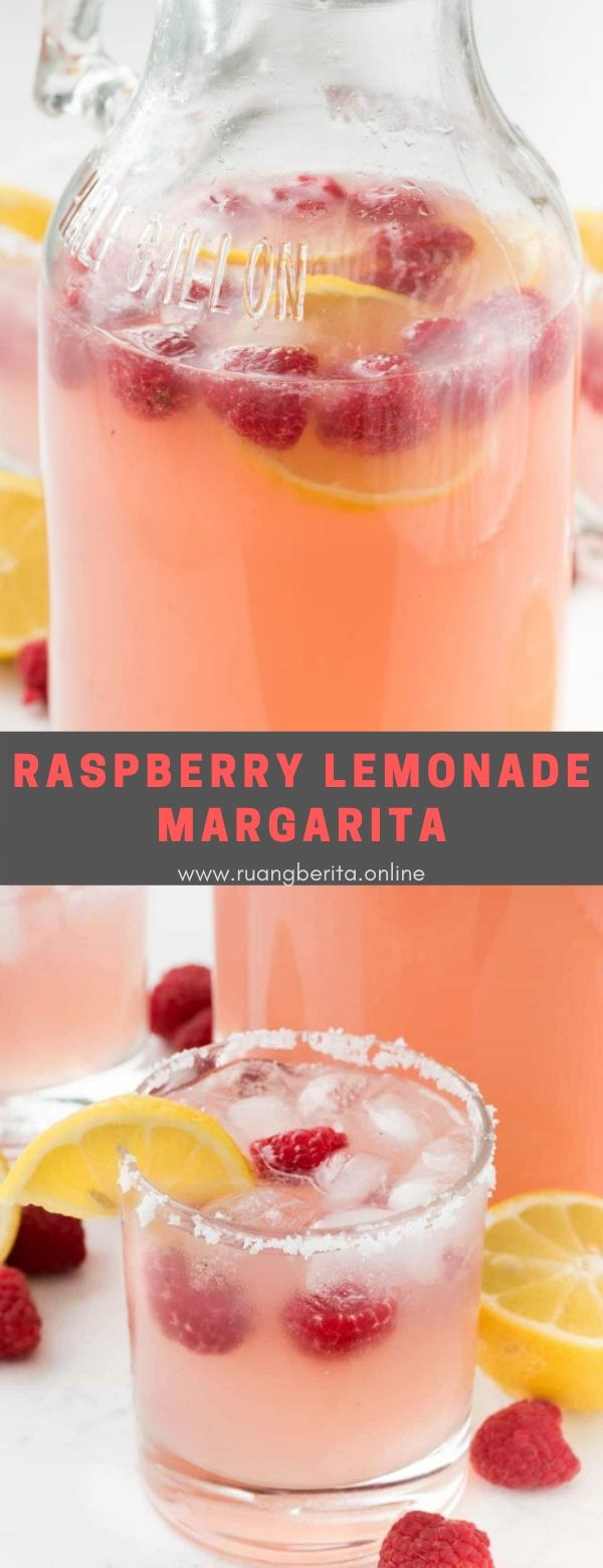 Raspberry Lemonade Margarita #summer #drink #raspberry #lemonade #margarita