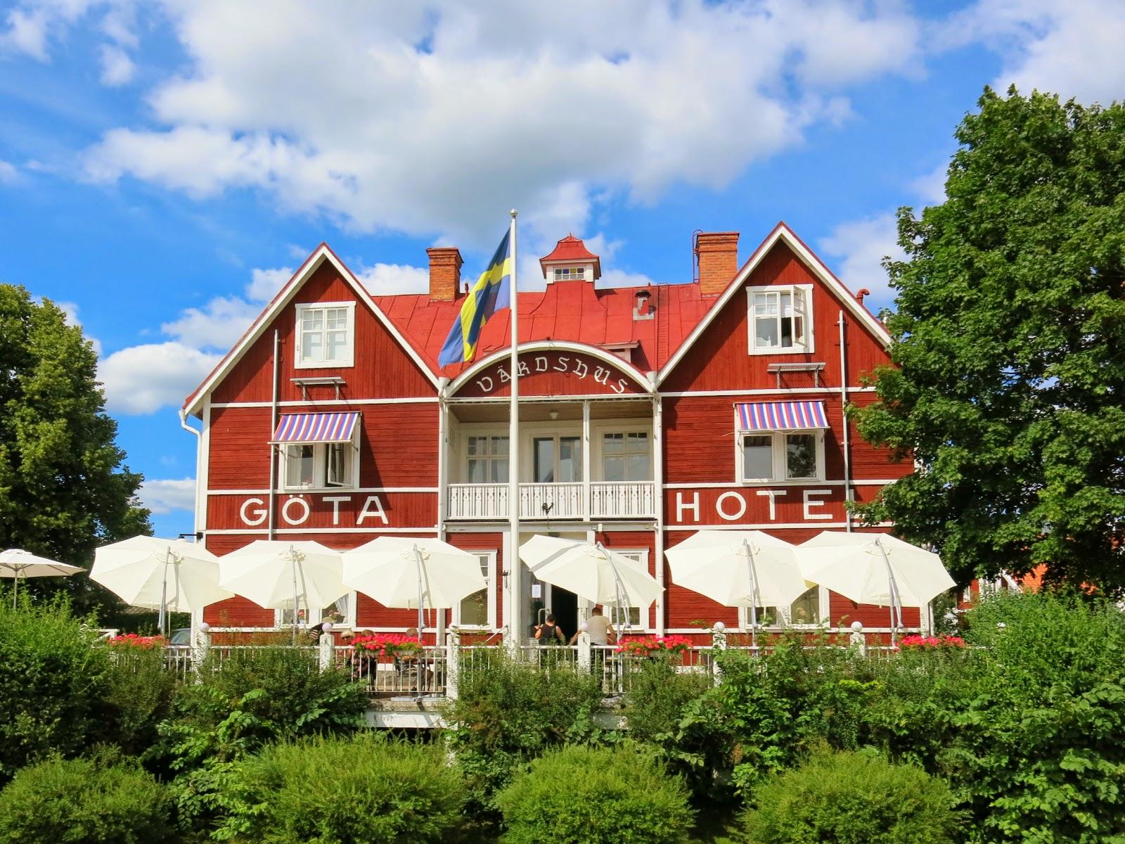 Göta kanal Göta hotell