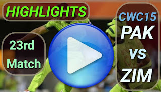 ZIM vs PAK 23rd Match