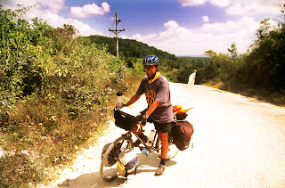 Cycle Tour from belize to Guatemala
