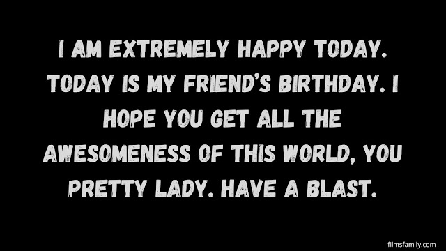 Novelty Birthday Messages for Friends