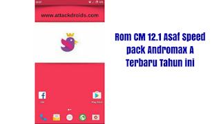 Rom CM 12.1 Asaf Speed pack Andromax A Terbaru Tahun ini