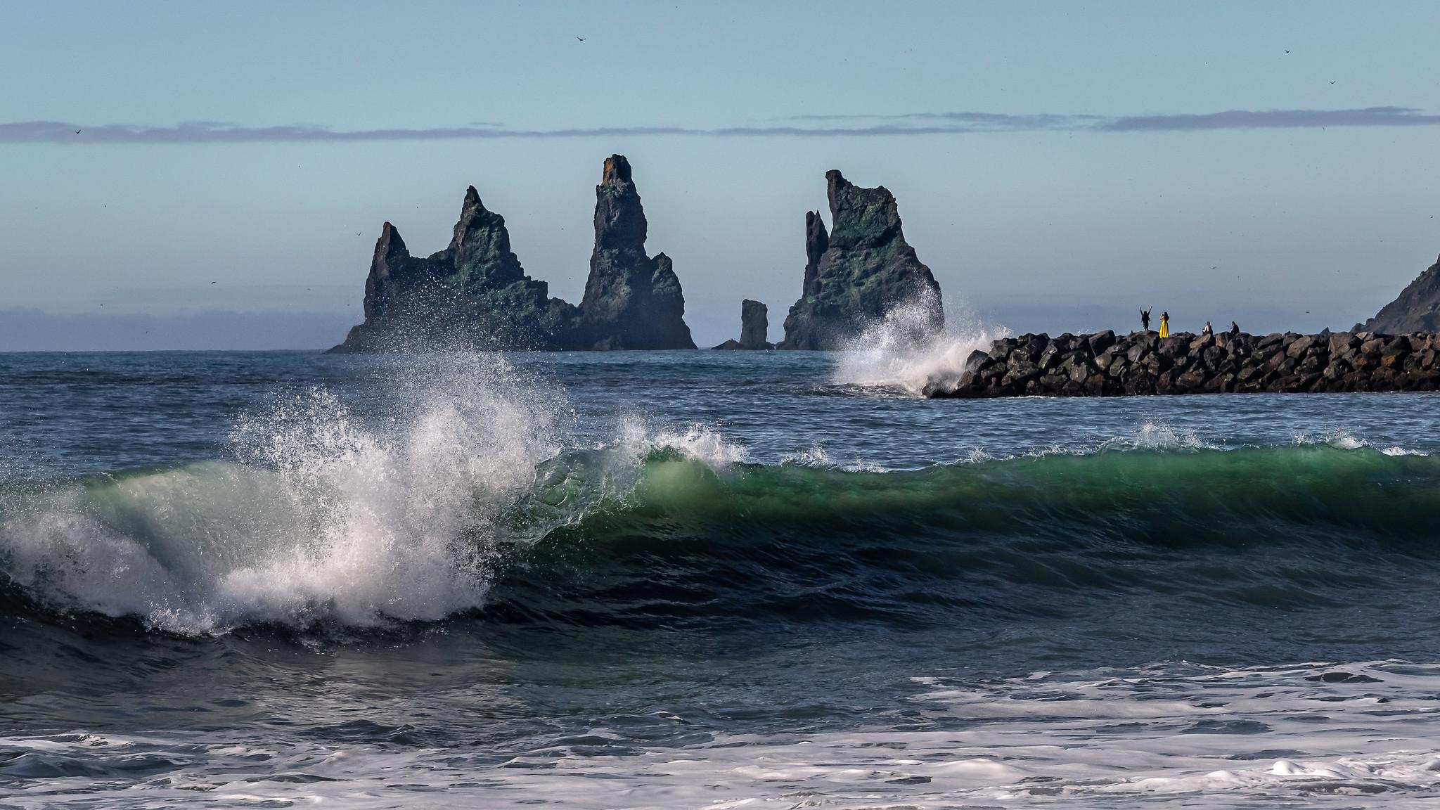 Reinisdrangar Rocks