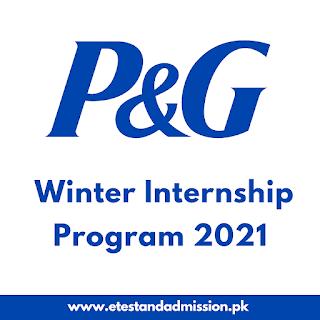 P&G Winter Internship Program 2021