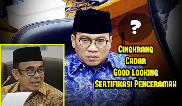 DPR Cecar Menag soal Cingkrang, Cadar, Good Looking, Sertifikasi Penceramah