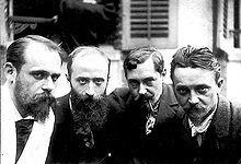 Roussel,Vuillard,Coolus,Vallotton photographiés par Alfred Natanson