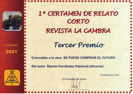 Diploma 3º Premio revista la Cambra