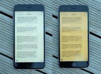Attivare la modalità notte su iPhone e iPad per la lettura al buio