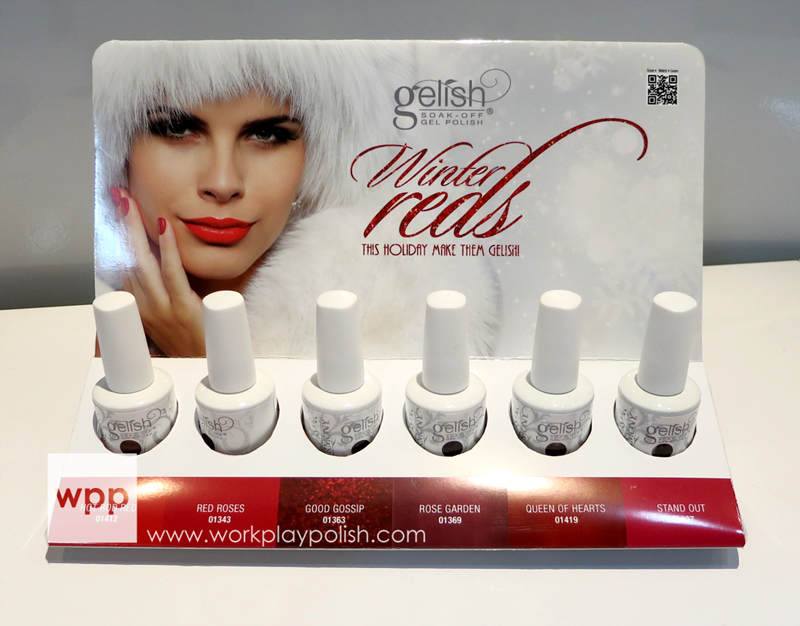 Gelish Winter Reds (2013)