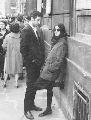 Fred and Bonnie in Paris during their NYU years