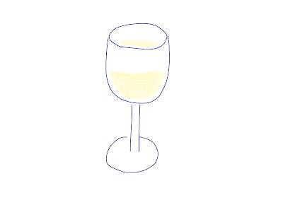 アイコン 「白ワイン」 (作: 塚原 美樹)