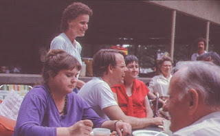 Louis Patrick in the 1980's at an MCIL event