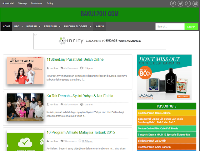 Masalah blog Redirect Ke Url Lain