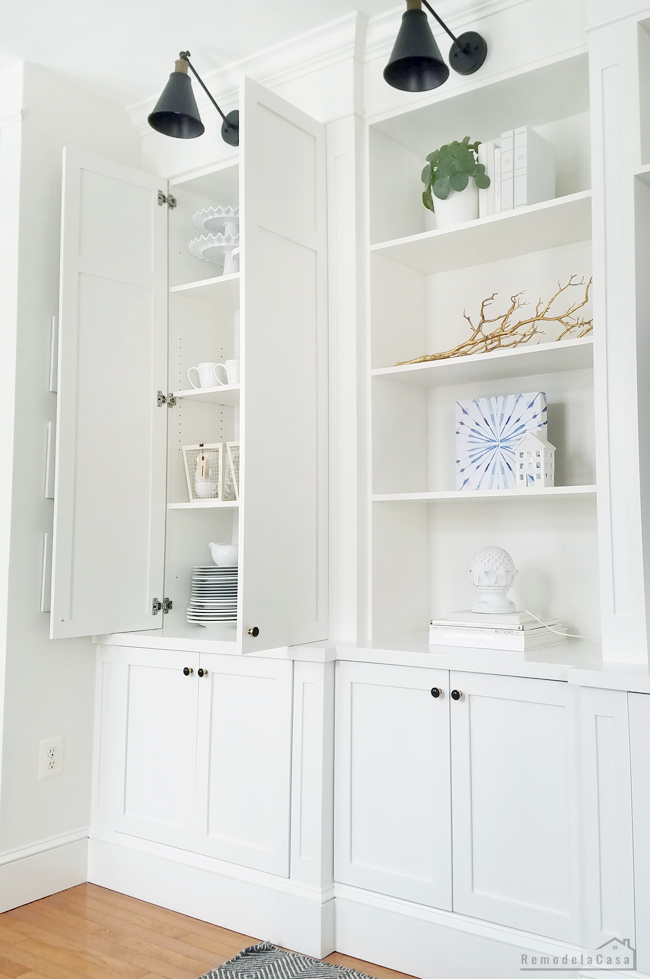 how to build entertainment center and storage space