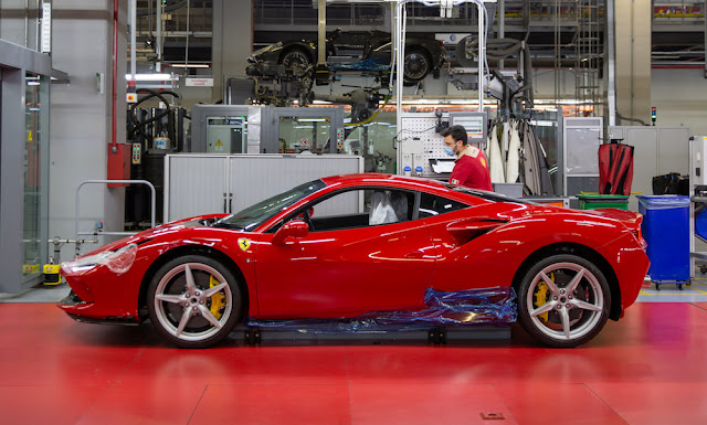 フェラーリ 生産再開 F8トリブート