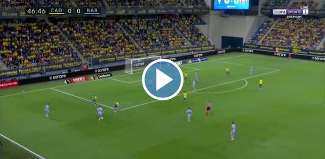Cadiz vs Barcelona Live Score