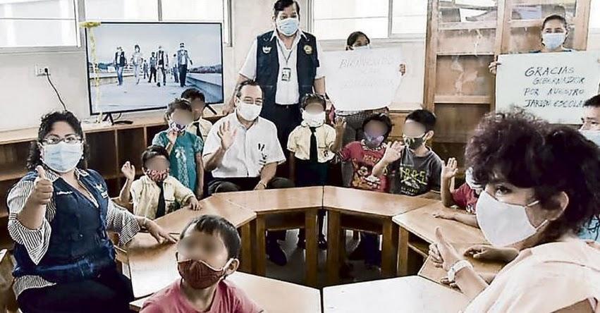 MINEDU informará hoy jueves si habilitan colegios para clases presenciales en Lima
