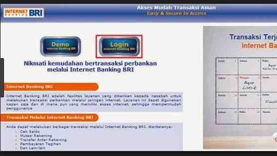 Cara Membuka Blokir Internet Banking Bri Dan Cara Mengatasi Blokir