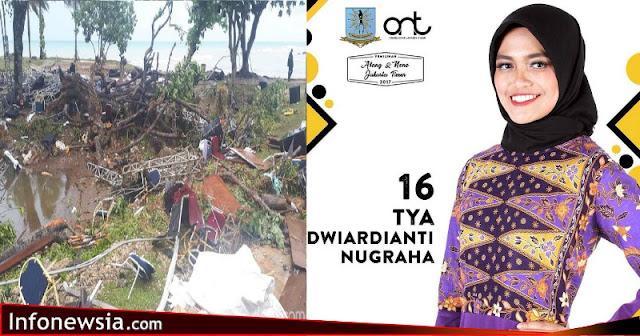 Tya Dwiardianti Nugraha yang jadi korban tsunami (Dok Instagram Abang-None Jakarta