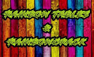 rainbow tables and rainbowcrack on kali linux