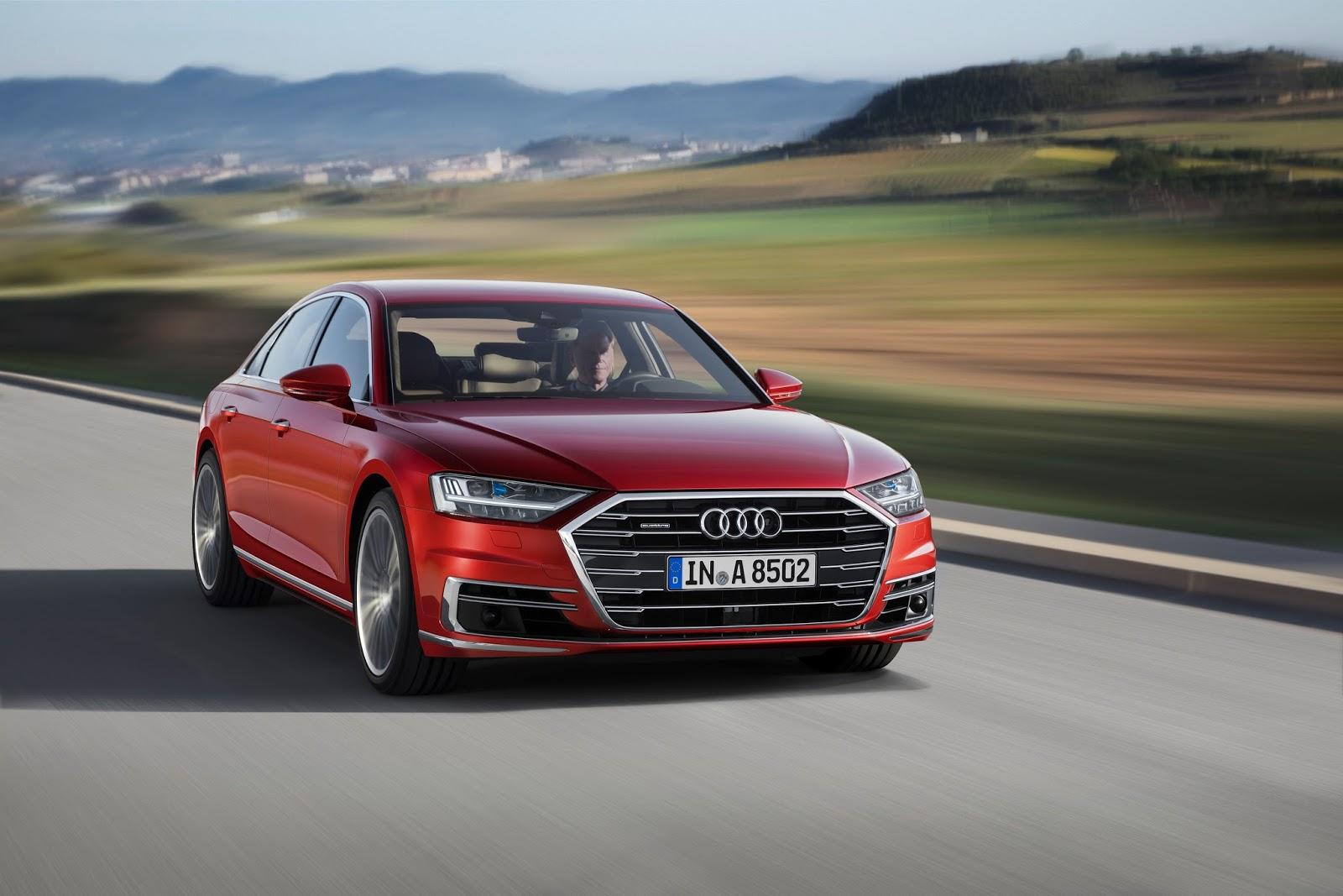 Audi A8 Đời mới nhất tại việt nam