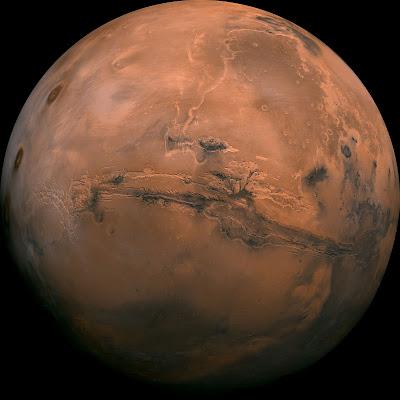 Mars, Merih