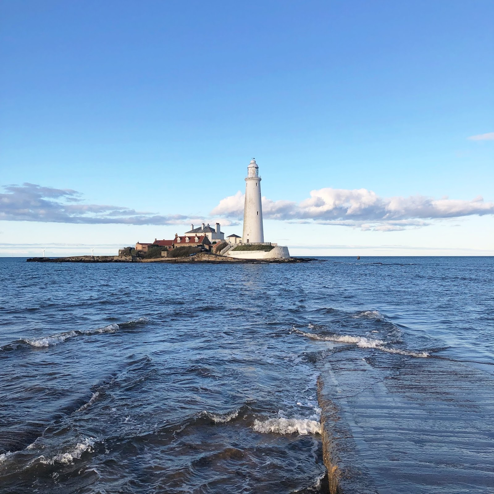 My October Days - St Marys Lighthouse