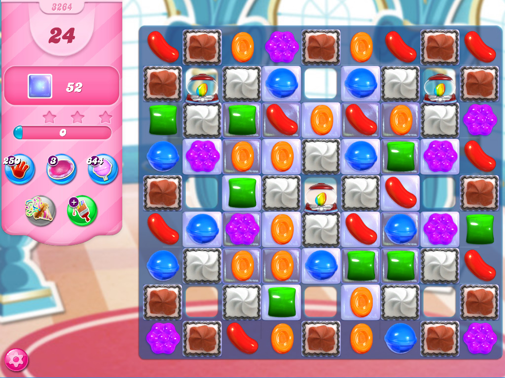Candy Crush Saga level 3264