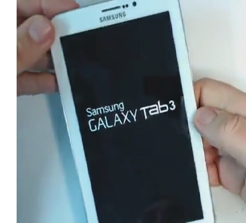 Samsung galaxy tab locked up