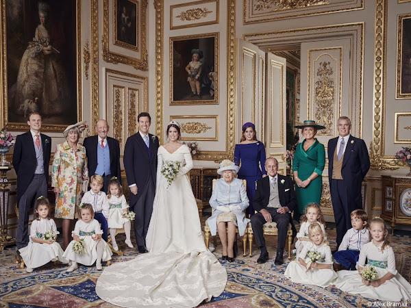 Oficjalne zdjęcia ze ślubu księżniczki Eugenie i Jack'a Brooksbank! + więcej.