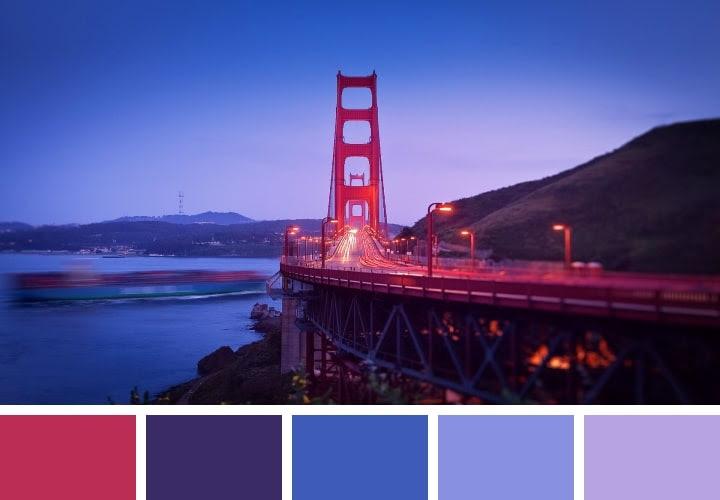 Golden Gate Color Inspiration