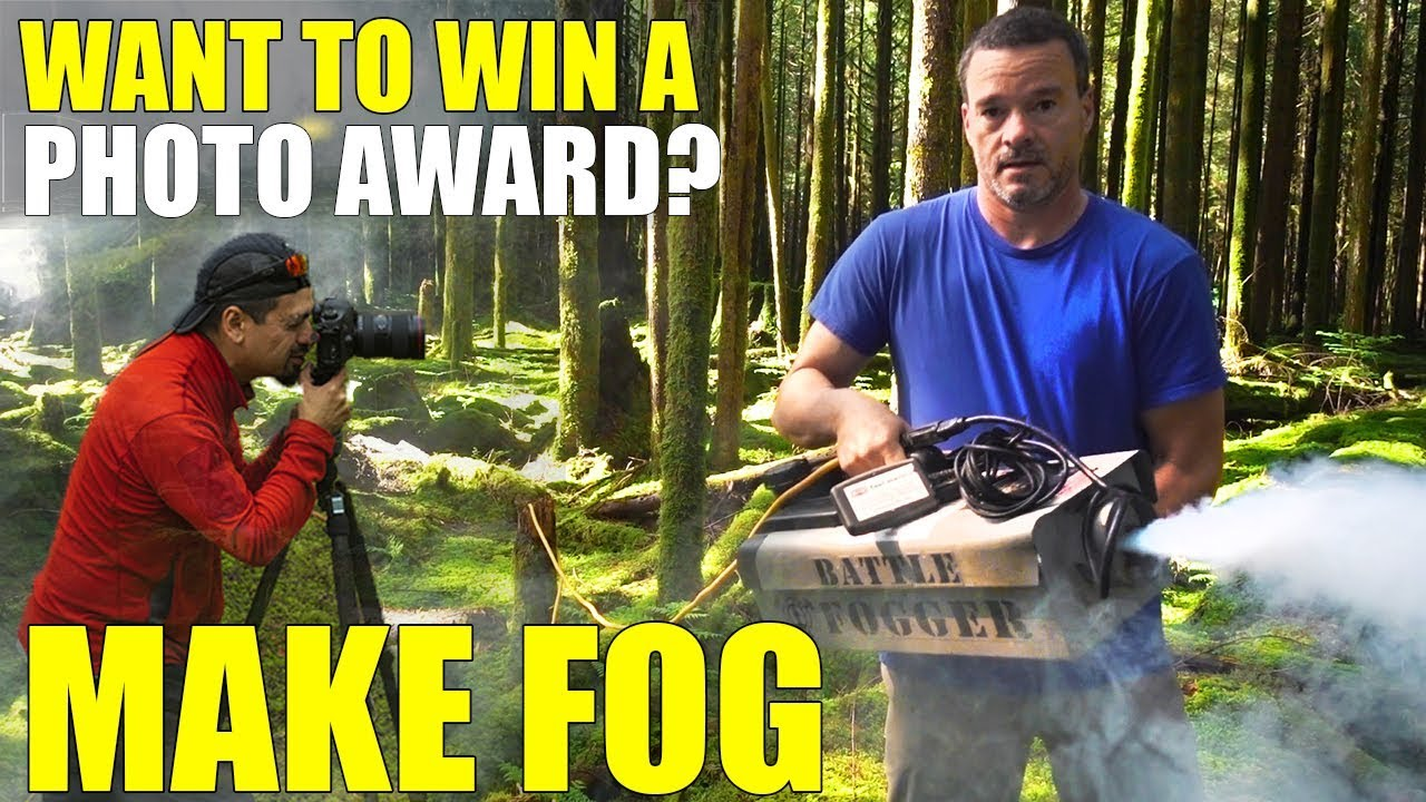 Landscape Photography Ideas with a Fog Machine To Win an Award