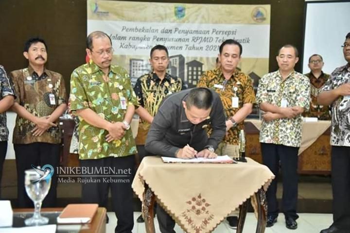 Susun Teknokratik RPJMD 2021-2025, Pemkab Kebumen Gandeng Tim Ahli UGM Yogyakarta