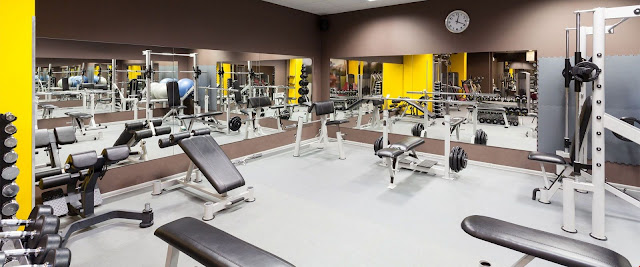Phòng tập Gym hiện đại