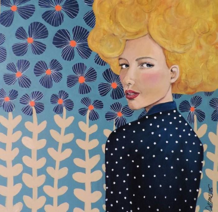 Мне нужно рисовать. Sylvie Demers