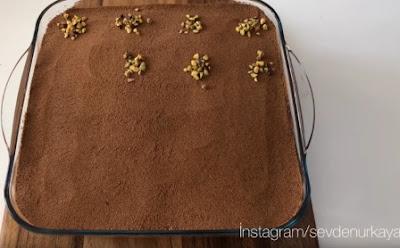 كيكة الرمل بالشوكولا روعة