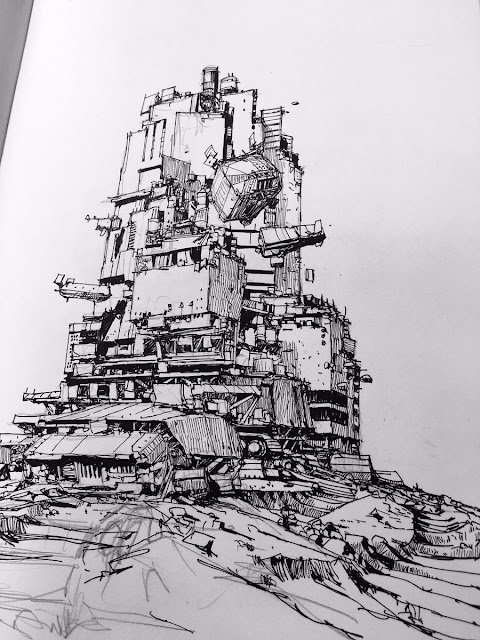 ian mcque traction city sketch