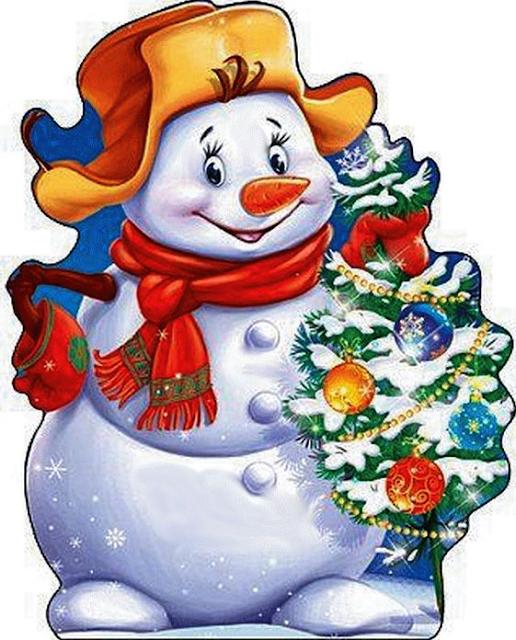 Snowman Christmas Images