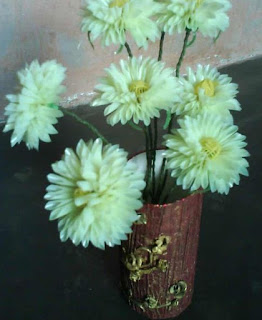 Cara Membuat Bunga Sakura sedotan