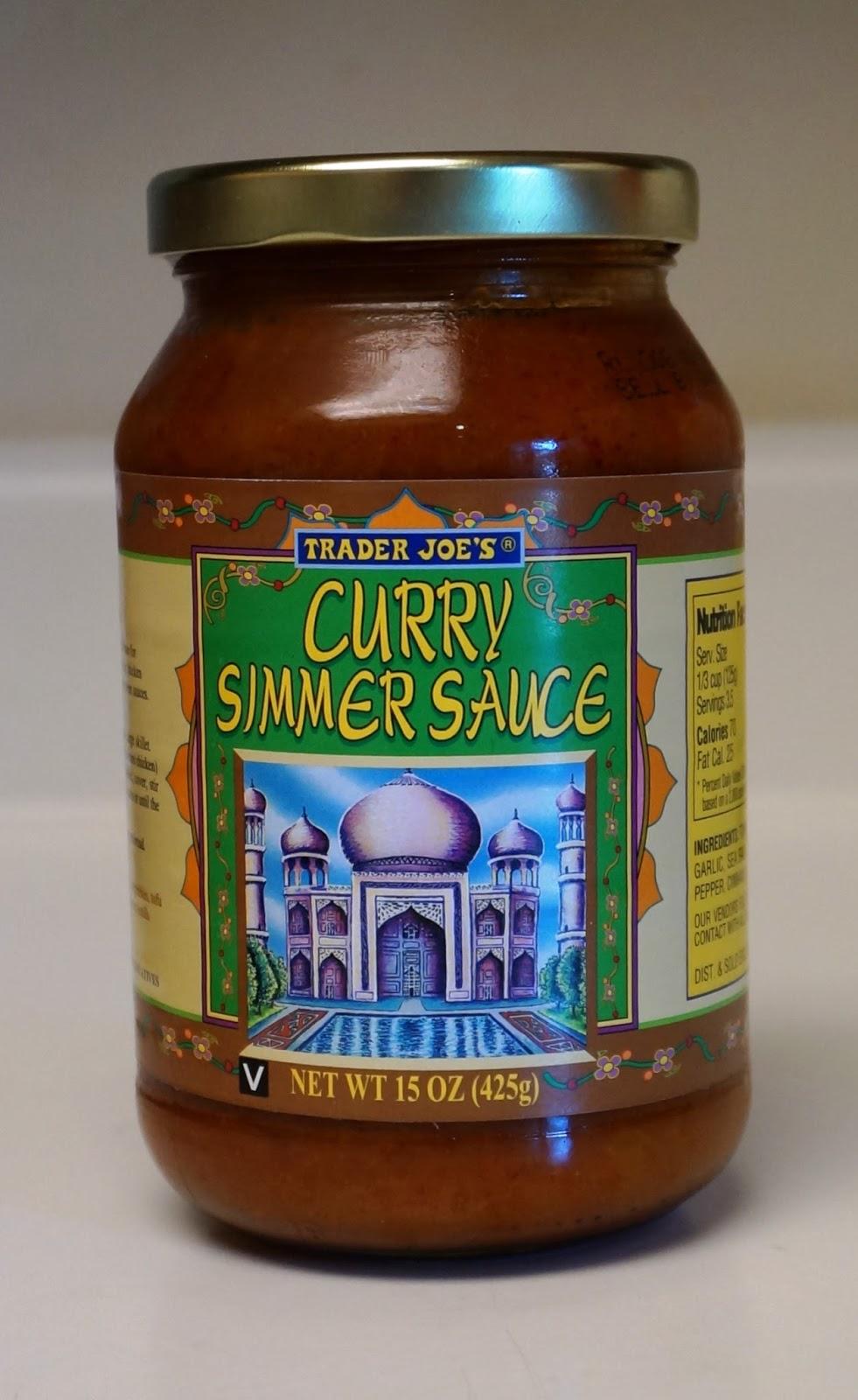Exploring Trader Joe's: Trader Joe's Curry Simmer Sauce