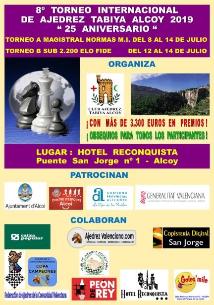 8-14 julio, MODIFICACIONES Magistral + IRT Sub-2200 Tabiya Alcoy, 25 aniversario